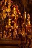 Buddha images in Pindaya Cave