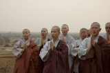 Group of Korean monks, Bagan
