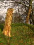 Denmark wood Sculpture