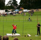 Throwing the weight  Forres Highland Games