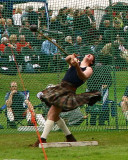 Throwing the Hammer Forres Highland Games