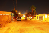 Looks like a street of gold , but its just a night in mexicali