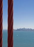 San Francisco seen from the Golden Gate Bridge