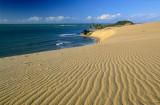 Genipabu clássico com detalhe da textura das dunas