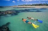 mergulho nas piscinas naturais da praia de fleixeiras, Trairi, Ceará