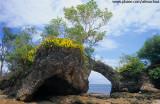 Ilha da Pedra furada, Península de Maraú