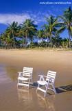 Cadeiras na Praia do Cassange, Península de Maraú2