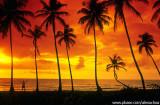Agradecendo ao senhor por estar no paraíso