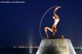 Estátua de Iracema Guardiã, Praia de Iracema, Fortaleza, Ceara