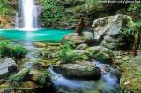 Cachoeira de Santa Bárbara, Chapada dos Veadieiros, GO