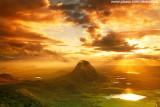 Nascer do sol visto da Serra do Urucum, Quixadá_3637