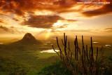 Nascer do sol visto da Serra do Urucum, Quixadá_3644