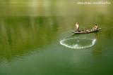 Pescador jogando tarrafa no Açude do Cedro_3532
