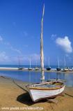 Barcos na praia de Mundaú, Trairi, CE
