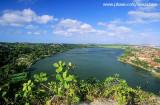 Lagoa do Iguape vista a partir do morro do enxerga tudo, CE