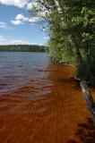 Sorsanselka-lake in the Leivonmaeen National park, Finland