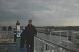 On the ferryboat in Travemuende