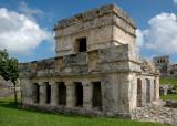 Temple of the Frescoes - Tulum