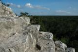 Over the jungle - Pyramid of Nohoch Mul - Cobá
