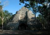 Pyramid of Xaibé - Cobá