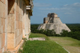 View from the Palace - Uxmal