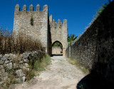 Entry through the wall