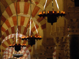 Candelabras and arches - The Mezquita