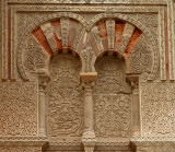 Detail of the facade - The Mezquita