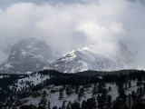 Storm over the divide