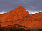 Mt Toll Alpenglow