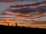 Sunrise from Mitchell Lake