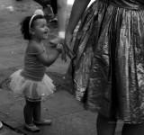 smilling bailarina