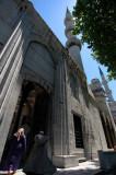 entering Blue Mosque