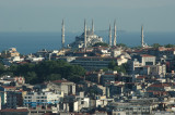 Blue Mosque from Galata Tower