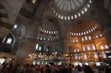 inside Blue Mosque
