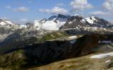 Whistler peak trail
