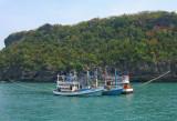 Fishing boats, Tarutao