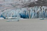 A closer view of the glacier
