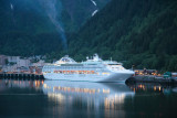 Cruise Ship in the Port of Juneau