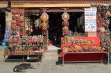Souvenir shop at Swayambhunath (aka the Monkey Temple)