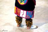 Tlacopan Aztec Dancers  - feet
