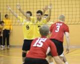 Queens Vs York M-Volleyball 02-02-07