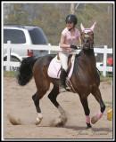 AMÉLIE LESSARD ET SHAGUY ( Cheval arabe et quarter-horse)
