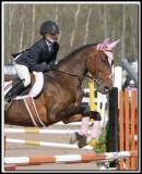 SELLE ANGLAISE SAUTS VUS DE LA DROITE / JUMPS BY THE RIGHT SIDE HORSE BACK RIDING