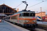 The BB22356 at Marseille Saint-Charles.
