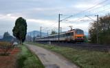 The BB26075 near Pignans, heading to Nice.