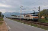 The BB22209 near Cuers, heading to Nice.