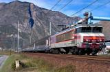 La CC6561 à Saint-Jean de Maurienne.