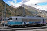 La BB22266R à Modane.