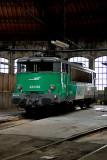 La BB25182 au dépôt de Chambéry.